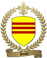 BOULE Family Crest
