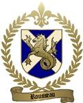 ROUSSEAU Family Crest