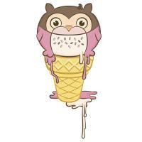 Ice Cream Owl