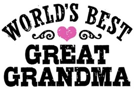 World's Best Great Grandma t-shirts
