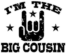I'm The Big Cousin t-shirt