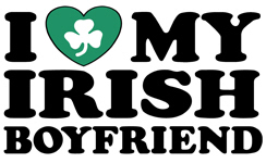 I Love My Irish Boyfriend t-shirt