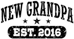 New Grandpa Est. 2016 t-shirt