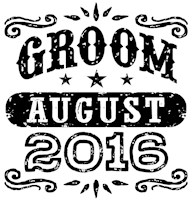Groom August 2016 t-shirt