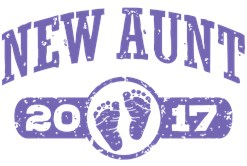 New Aunt 2017 t-shirt