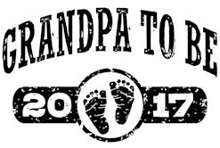 Grandpa To Be 2017 t-shirt