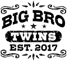 Big Brother Twins Est. 2017 t-shirt