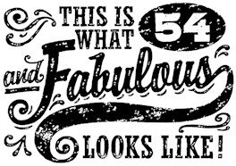54th Birthday t-shirt