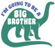 Big Brother Dinosaur t-shirt