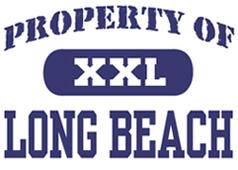 Property of Long Beach t-shirt