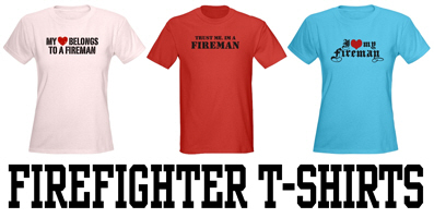 Firefighter t-shirts and gifts