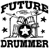 Future Drummer t-shirt