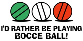 Funny Bocce t-shirt