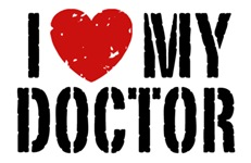 I Love My Doctor t-shirts