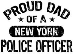 Proud Dad of a New York Police Officer t-shirt
