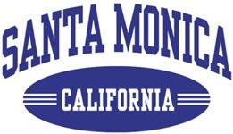 Santa Monica California t-shirts
