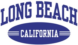 Long Beach California t-shirts
