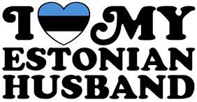 I Love My Estonian Husband t-shirt
