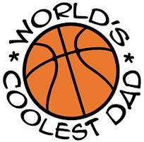 World's Coolest Basketball Dad t-shirt