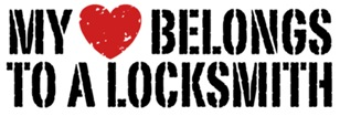 My Heart Belongs To A Locksmith t-shirts
