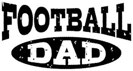 Football Dad t-shirts