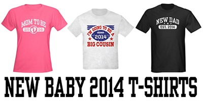 New Baby 2014 t-shirts