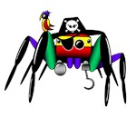 pirate spider