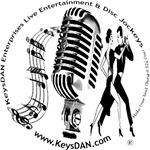 KeysDAN Live Entertainment & Disc Jockeys Logo