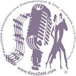 KeysDAN Logo (Purple Clouds)