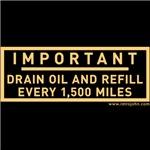 Drain Oil