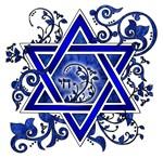 Demin Star of David