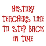 History Teachers Step Back in Time
