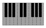 Optical Illusion Pianos