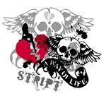 A Way Of Life Winged Skulls