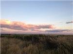 Prairie Summer Sunset