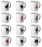 Eastern Astrology Elixir Mugs