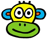 Yellow Green Monkey