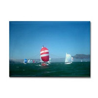 sf bay gifts - sailing magnets