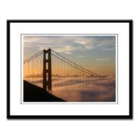 golden gate bridge framed archival prints