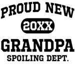 Proud New Grandpa Personalized