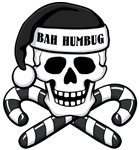 Bah Humbug Skull