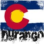Durango Grunge Flag