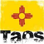 Taos Grunge Flag