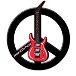 Peace Guitar 2 - Black