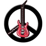 Peace Guitar Black