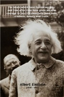 Beauty Truth Kindness: Physicist Einstein