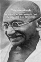 Power of Truth: Famous Words of Gandhi