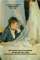 Cradle Painting: Female Impressionist Art Morisot