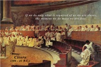 Cicero: Freedom Quote