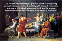 Socrates: Commitment to Truth and Wisdom